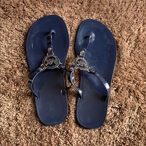 Michael Kors Rubber Flip Flops